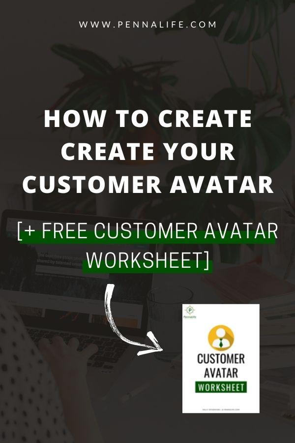 "Google SERP's rich result for ""Customer Avatar Worksheet."""